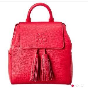 Tory Burch Thea mini backpack red